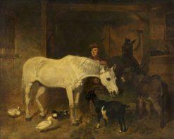 Returning from the Market | John Frederick Herring