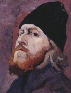 Head of a Monk   Mikhail Vasilevich Nesterov   Oil Painting