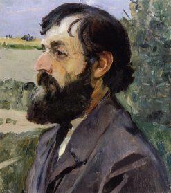 Head of a Bearded Man | Mikhail Vasilevich Nesterov | Oil Painting