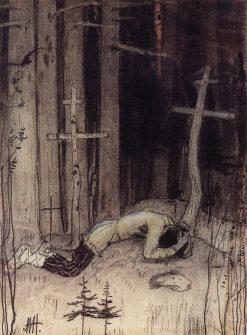 Grief   Mikhail Vasilevich Nesterov   Oil Painting