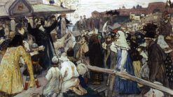 Citizen Minin | Mikhail Vasilevich Nesterov | Oil Painting