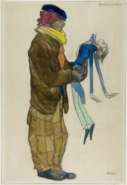 Costume Design for Man in a Brown Suit