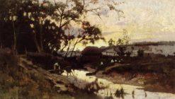 Sunset | Mikhail Vasilevich Nesterov | Oil Painting