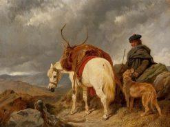 The Deer-Stalker | John Frederick Herring
