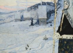 Winter | Mikhail Vasilevich Nesterov | Oil Painting