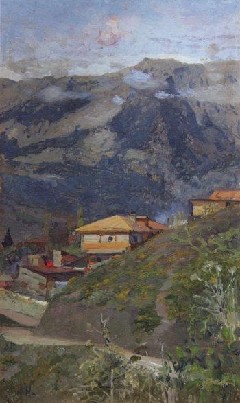 The Caucasus | Mikhail Vasilevich Nesterov | Oil Painting