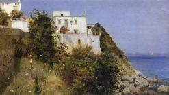 Capri | Mikhail Vasilevich Nesterov | Oil Painting