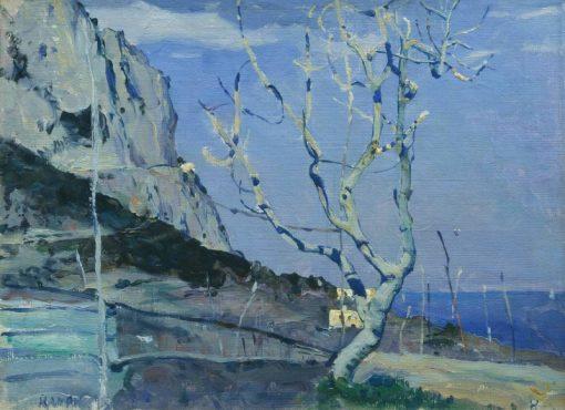 Capri. Spring | Mikhail Vasilevich Nesterov | Oil Painting