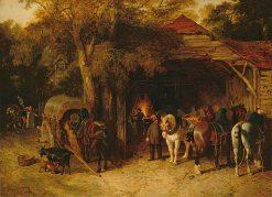 The Blacksmiths | John Frederick Herring