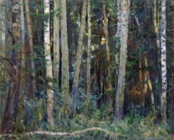 Forest | Mikhail Vasilevich Nesterov | Oil Painting