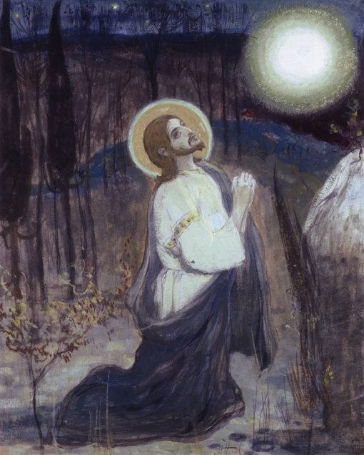 Agony in the Garden   Mikhail Vasilevich Nesterov   Oil Painting