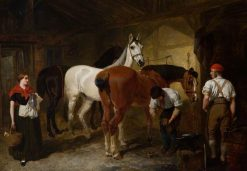 The Forge | John Frederick Herring