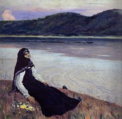 On the Volga | Mikhail Vasilevich Nesterov | Oil Painting