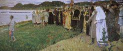 Russia | Mikhail Vasilevich Nesterov | Oil Painting