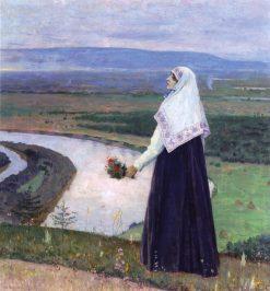 On the Hill | Mikhail Vasilevich Nesterov | Oil Painting