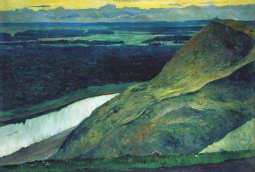 Aksakovs Homeland   Mikhail Vasilevich Nesterov   Oil Painting
