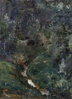 The Ravine | Mikhail Vasilevich Nesterov | Oil Painting