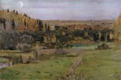 The Outskirts of Abramtsevo | Mikhail Vasilevich Nesterov | Oil Painting