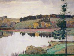 Autumn Landscape | Mikhail Vasilevich Nesterov | Oil Painting