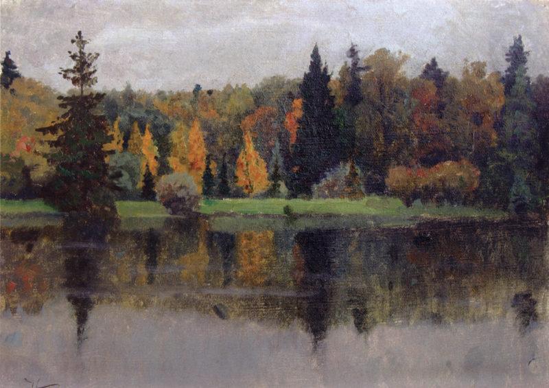 Autumn | Mikhail Vasilevich Nesterov | Oil Painting
