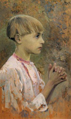 Youth Bartholomew | Mikhail Vasilevich Nesterov | Oil Painting