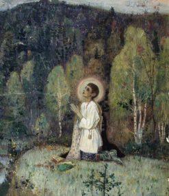 Youth Bartholomew   Mikhail Vasilevich Nesterov   Oil Painting