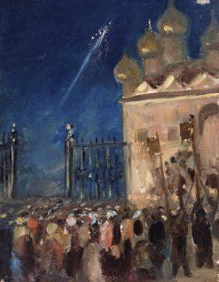 Easter Vigil | Mikhail Vasilevich Nesterov | Oil Painting