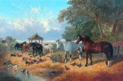 The Old Farmstead   John Frederick Herring