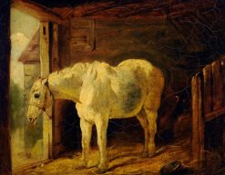 The White Horse | John Frederick Herring