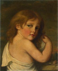 Portrait of a Little Girl | Jean-Baptiste Greuze | Oil Painting