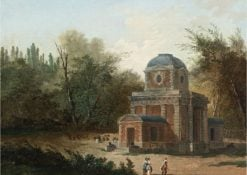Project for the Pavillon de Clèves of Maupertuis | Hubert Robert | Oil Painting