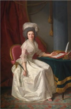 Portrait of a Lady | Rose-Adelaide Ducreux | Oil Painting