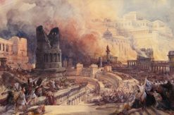 The Destruction of a City | David Roberts | Oil Painting