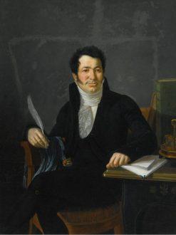 Portrait of a Gentleman | Francois-Xavier Fabre | Oil Painting