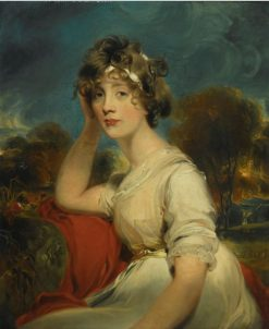 Portrait of Lady Jane Long | Thomas Lawrence | Oil Painting