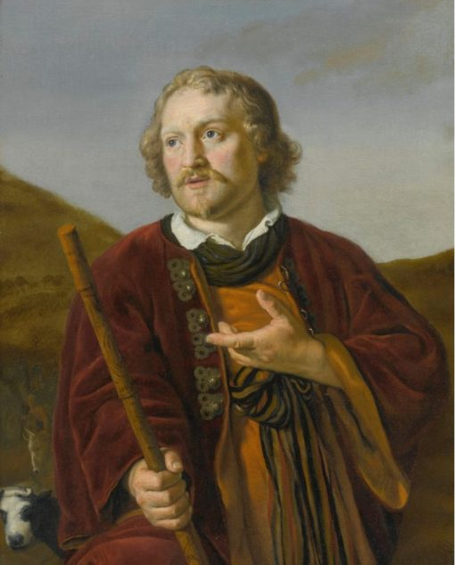 A Shepherd with His Staff | Jan Victors | Oil Painting