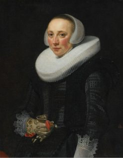 Portrait of a Lady | Nicolaes Eliasz. Pickenoy | Oil Painting