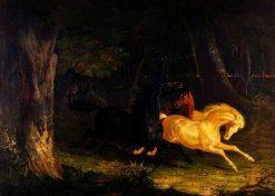 Wild Horses | John Frederick Herring