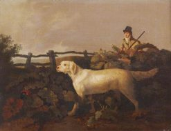 A Sportsman and His Dog | Philip Reinagle | Oil Painting
