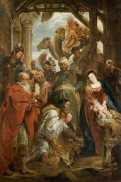Adoration of the Magi (copy after Peter Paul Rubens) | Philip Reinagle | Oil Painting