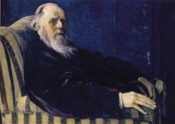 Portrait of Vladimir Chertkov | Mikhail Vasilevich Nesterov | Oil Painting