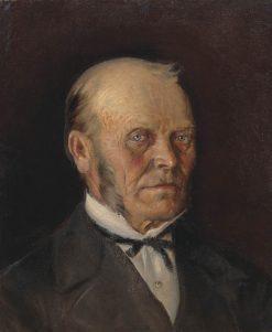 Portrait of V.I. Nesterov | Mikhail Vasilevich Nesterov | Oil Painting