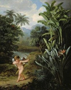 Cupid Inspiring the Plants with Love | Philip Reinagle | Oil Painting