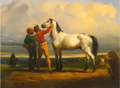 The Grey Horse | Rosa Bonheur | Oil Painting