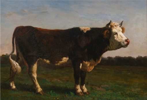 King of the Herd | Rosa Bonheur | Oil Painting