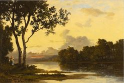 Late Summer Sun | Leon Richet | Oil Painting