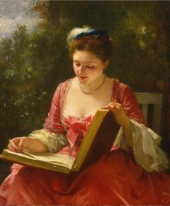 An Afternoon Delight | Leopold Carl Muller | Oil Painting