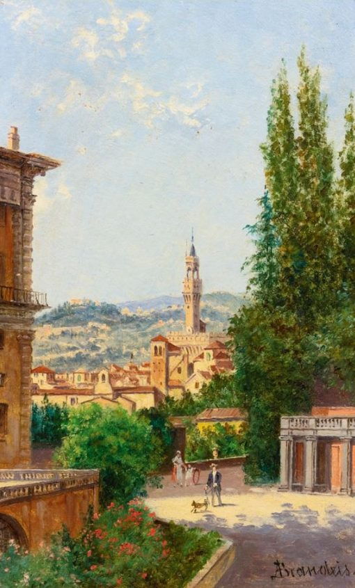 View of Palazzo Vecchio from the Boboli Gardens