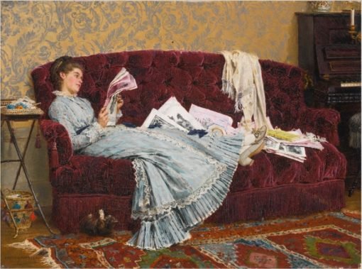 Sunday Afternoon | Marie-Francois Firmin-Girard | Oil Painting