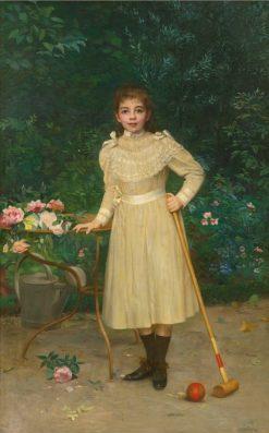 Ready to Play | Paul-Charles Chocarne-Mureau | Oil Painting